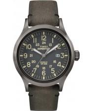 Timex TW4B01700 Mens expeditie analoog verhoogd bruin horloge