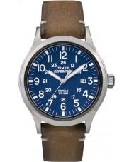 Timex TW4B01800 Mens expeditie analoge verhoogd bruin lederen band horloge