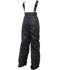 Dare2b DKW033-800026 Kids Turnabout zwarte sneeuw broek - 26 inch