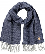 Barts 2918003 Mens Carson delft blauwe sjaal