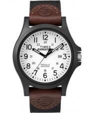 Timex TW4B08200 Mens expeditie bruine stof band horloge