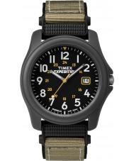 Timex T42571 Mens Black camper expeditie horloge