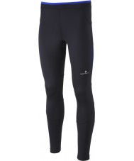Ronhill RH000083-R400-XL Mens vooruit zwarte kobalt contour lopen panty - maat XL
