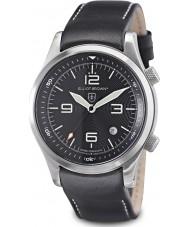 Elliot Brown 202-012-L02 Mens bergredding editie Canford zwarte horloge met extra geweven zwart ballistisch nylon bandje