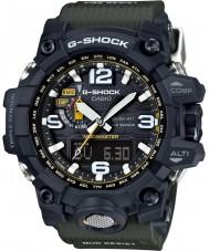 Casio GWG-1000-1A3ER Mens G-shock radio gecontroleerde zonne-kompas zwart horloge