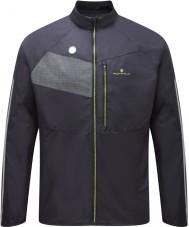 Ronhill RH-001895R848-L Mens Vizion zwart fluor geel glans jasje - maat L