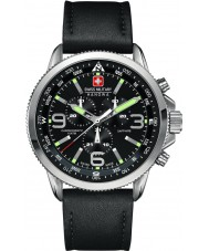 Swiss Military 6-4224-04-007 Mens arrow chrono zwarte horloge