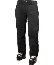 Helly Hansen Mens snelheid geïsoleerde zwarte ski broek