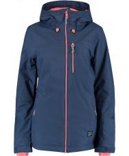 Oneill 655032-5032-L Ladies solo blauw nachten jas - maat L