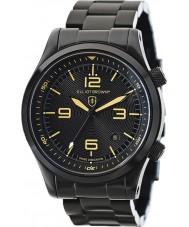 Elliot Brown 202-002-B04 Mens Canford zwarte ip stalen armband horloge