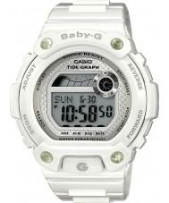 Casio BLX-100-7ER Ladies Baby-G getijgrafiek witte wacht