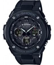 Casio GST-W100G-1BER Mens G-SHOCK radiogestuurde zonne zwart horloge