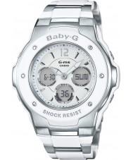 Casio MSG-300C-7B3ER Ladies Baby-G wereldtijd two tone combi horloge