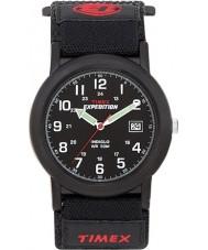 Timex T40011 Mens Black camper expeditie horloge