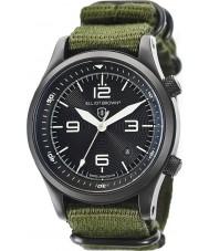 Elliot Brown 202-004-N01 Mens Canford groene stof Strap Watch