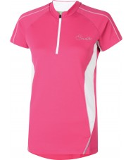 Dare2b Dames genieten elektrische roze t-shirt