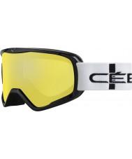 Cebe CBG50 Striker l oranje geruite - orange flash mirror skibril