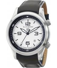 Elliot Brown 202-005-L02 Mens Canford zwart lederen band horloge