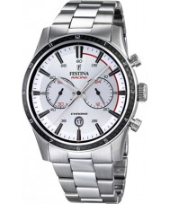Festina F16818-1 Mens Tour of Britain 2015 al zilver chronograafhorloge