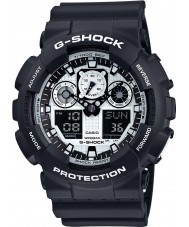 Casio GA-100BW-1AER Heren g-shock horloge