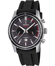 Festina F16874-H Mens Tour of Britain 2015 grijs zwart chronograafhorloge