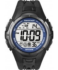 Timex T5K359 Mens Black marathon sport horloge