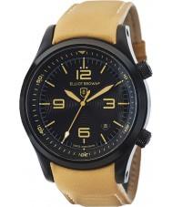 Elliot Brown 202-008-L04 Mens Canford bruin lederen band horloge