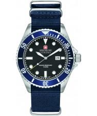 Swiss Military 6-4279-04-007-03 Mens zeeleeuw blauwe nylon band horloge