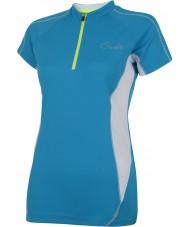 Dare2b Dames genieten van blauw juweelt-shirt