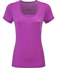 Ronhill Dames stride zeal ss t-shirt
