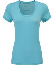 Ronhill RH-002263Rh-00255-16 Ladies schrijden ijver ss t-shirt