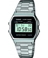 Casio A158WEA-1EF Mens collectie horloge