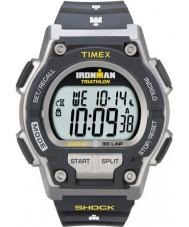 Timex T5K195 Mens grijs ironman schokken te weerstaan 30 ronde sport horloge