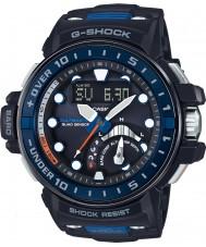 Casio GWN-Q1000-1AER Mens G-SHOCK radiogestuurde zwart kunststof band horloge