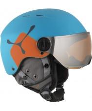 Cebe CBH209 Fireball jr blauw oranje skihelm - 49-54cm