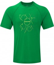 Ronhill RH-002472Rh-00236-S Mens pas zeshoek ss t-shirt