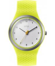 Braun BN0111WHGRL Dames sport groene siliconen band horloge