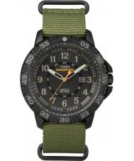 Timex TW4B03600 Mens expeditie gallatin groen nylon band horloge