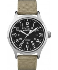 Timex T49962 Mens expeditie scout tan horloge