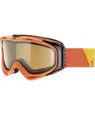 Uvex 5502143021 G.gl 300 opstijgen oranje - POLAVISION bruin ski-bril