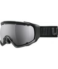 Uvex 5504322026 Jakk sferische black - zwarte spiegel skibril