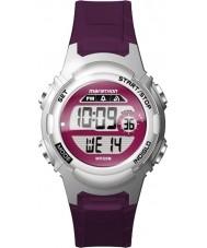 Timex TW5M11100 Ladies marathon paars hars Strap Watch