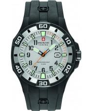 Swiss Military 6-4292-27-009-07 Heren bermuda zwarte siliconen band horloge