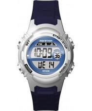 Timex TW5M11200 Ladies marathon blauw hars Strap Watch