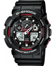 Casio GA-100-1A4ER Mens G-shock auto LED verlichting zwart horloge
