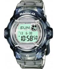 Casio BG-169R-8ER Ladies Baby-G Telememo 25 grijze digitaal horloge