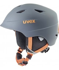 Uvex 5661325803 Airwing pro titanium orange skihelm - 52-54cm