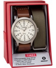 Timex TWG016100 Mens expeditie scout horloge cadeau set