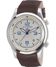 Elliot Brown 202-001-L09 Mens Canford bruine lederen band horloge