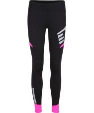 Newline 13117-066-S Ladies visio zwart roze panty - maat S